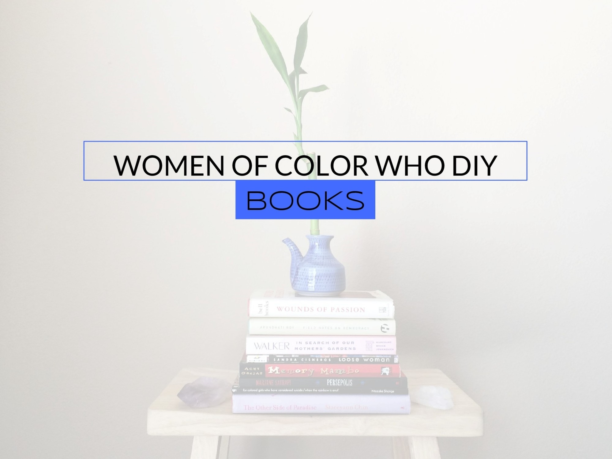 Women Of Color Who DIY Books