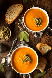 #3 Pumpkin and Red Lentil Soup