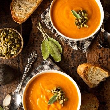 #3 Pumpkin and Red Lentil Soup