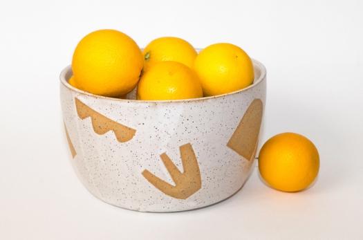 Abstract Shapes Bowl Tactile Matter