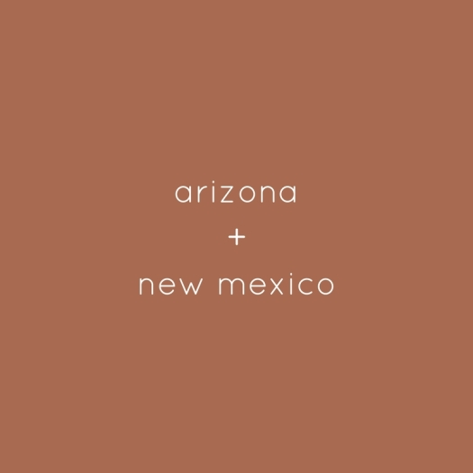 arizona + new mexico