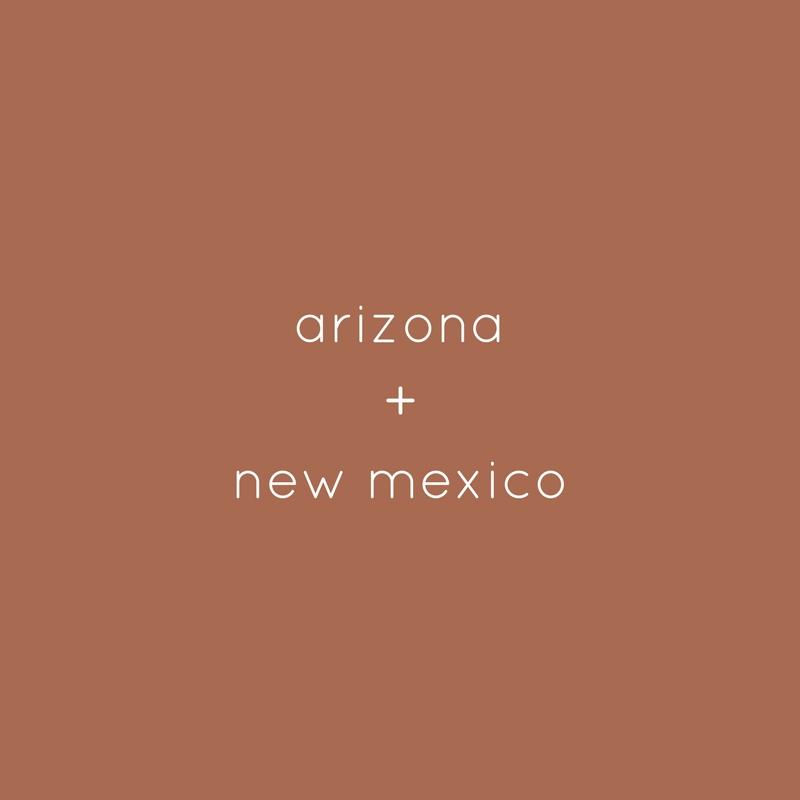 arizona + new mexico
